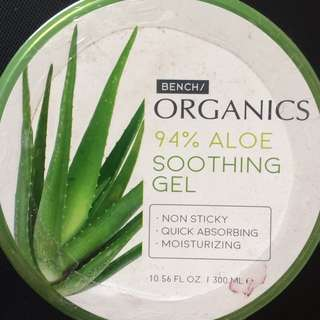 (New) Organics 94% Aloe soothing moisturizer gel (for Face and Body)