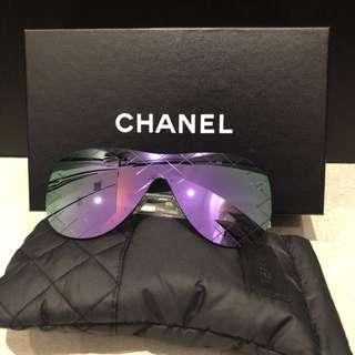 Chanel runway款太陽眼鏡 紫色鏡片