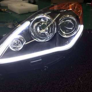 Alza HeadLamp LightBar+Runing Singnal
