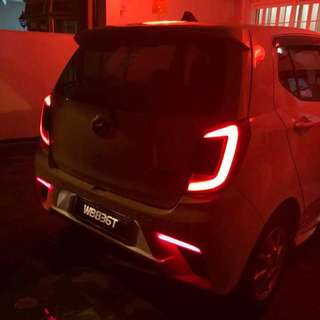 Axia Tail Lamp (Smoke)