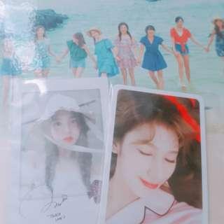 Twice nayeon sana likey 小卡(可議價)送透明卡套一個