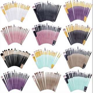 Brandless Make Up Brushes 20 pcs