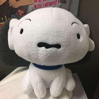 蠟筆小新 小生 小白 Shinchan Shiro 大公仔 毛公仔 情人節 約30cm高