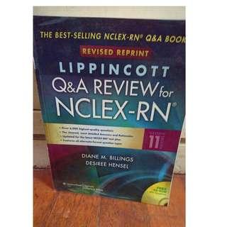 Lippincott NCLEX Review book