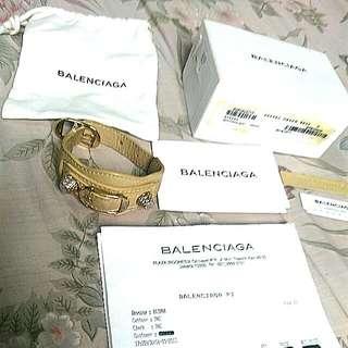 Balenciaga Bracelet Giant Nougatine Authentic