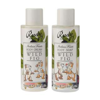 Japan Disneystore Disney Store Chip & Dale Natural Rudy Hand & Body Lotion Bath & Shower Gel Gift Set