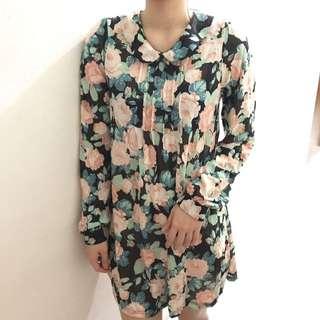 Topshop flower dress