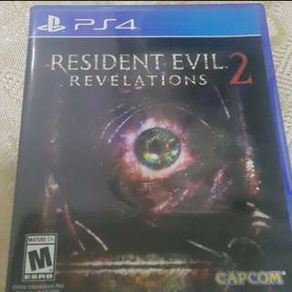 Ps4 Resident evil 2 Remake 生化危機:啟示2