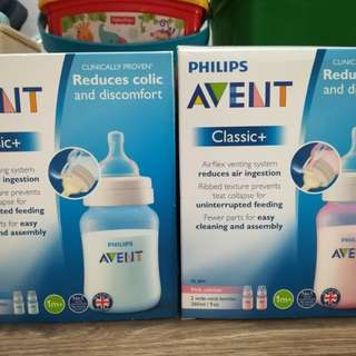 Brand New Avent Classic and Natural Bottle