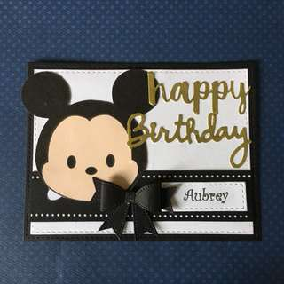 Tsum Mickey birthday