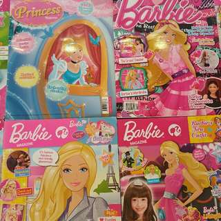 Barbie and Princess Magazines