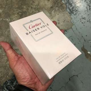 Authentic Cartier Baiser Vole Perfume 100ml Brand New In Box! Limited Stock First Come First Served 😎👍