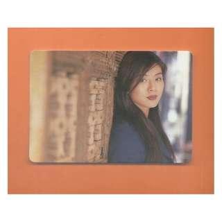 5884,YES CARD-楊采妮-背面歌詞-變成愛書人,全購系列-4折(連複品)