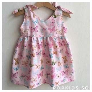 🎀INSTOCK - Cute Pink Butterfly Dress 🎀