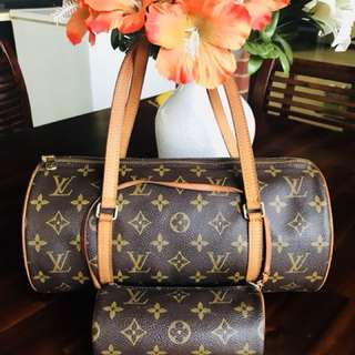 Authentic Vintage Louis Vuitton Papillon Monogram Leather 30