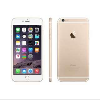 Iphone 6+ 64GB warna gold bisa cicil proses hanya 3 menit