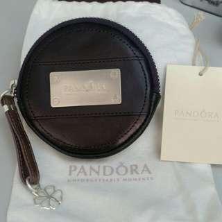 Pandora 真皮散紙銀包