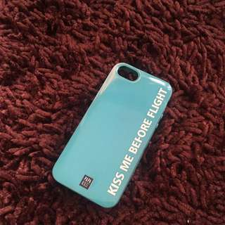 Kiss me before flight case for ip 5/5s