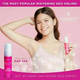 Sgt. at Arms Whitening Deo Spray