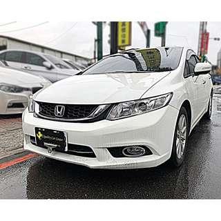 桃園出售 15年式 HONDA CIVIC K14 VTI-S 頂規小改款 實車實價 里程車況保證 熱銷車款 速洽