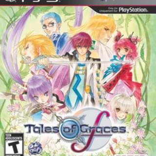 PS3 Tales of Grace F