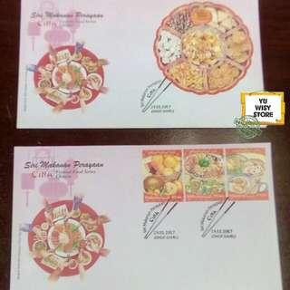 Setem tema makanan perayaan Cina
