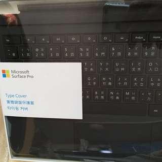 New surface pro 全新黑色未拆封鍵盤
