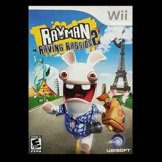 Rayman Raving Rabbids 2 Nintendo Wii