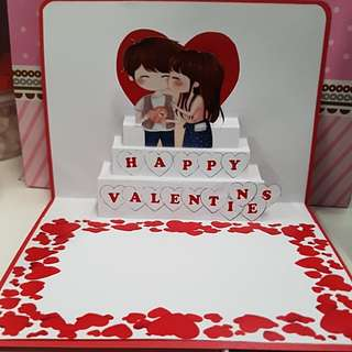 Customised gift (Pop out card)