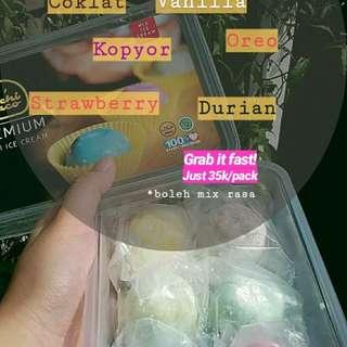 mochi ice cream berbagai rasa