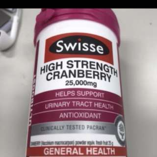 Swisse cranberry 30 capsules