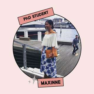 Maxinne, PhD Student