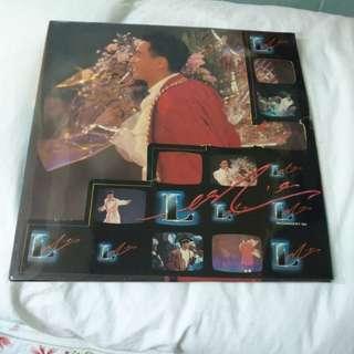 1988年張國榮 絕版LP 演唱會 兩碟