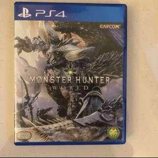 Monster hunter world 冇code