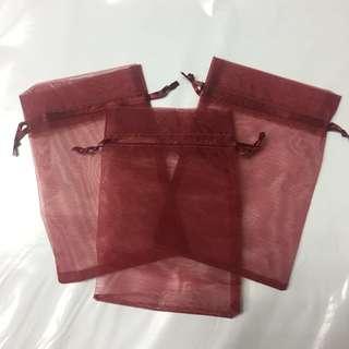Organza bag gift bag 15x10.5cm