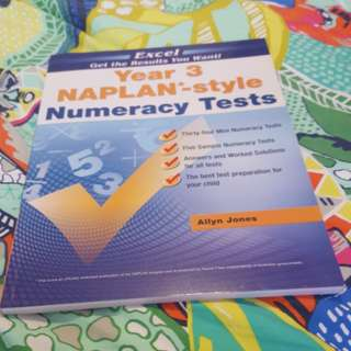 Year 3 NAPLAN books