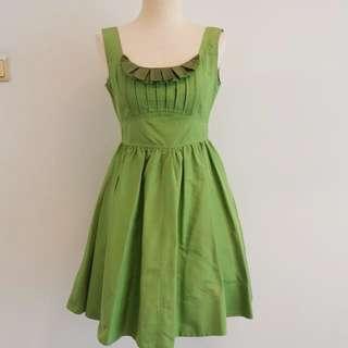 Fiorucci green party dress
