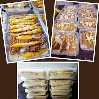 CREAMY GRAHAM CAKE