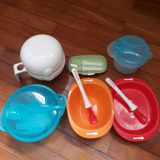 Baby eating set (6 pieces)