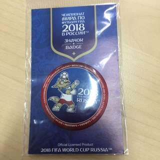 OFFICIAL FIFA RUSSIA WORLD CUP 2018 BADGE