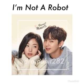 DVD Drama Korea I'm Not A Robot