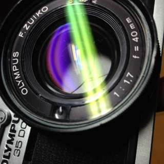 🚚 底片  單眼相機 Olympus 35dc f1.7
