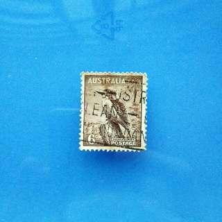Stamp Australia: 1937 SG 172 Kookaburra Fine Used