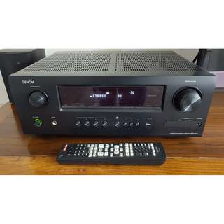 Denon AVR1912BKE2 - Denon AVR-1912 7.1 Channel Networked A/V Receiver