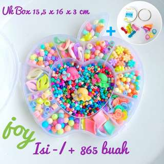 Mainan Edukasi Box Apel Warna Soft 13 Model