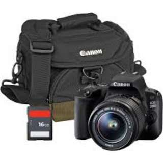 Kredit Canon 200D nyicil FREE memory card + uv filter + tas