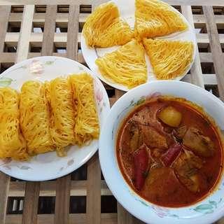 Roti Kirai/Roti Jala