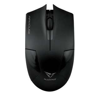 Alcatroz Wireless Airmouse Optical Mouse (Black)