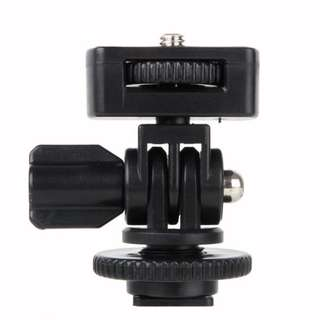 hot shoe to 1/4 adaptor for small monitor and camera