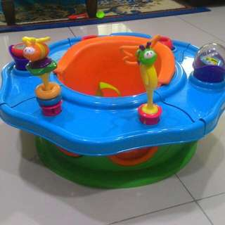 Booster Seat With Activities Tray